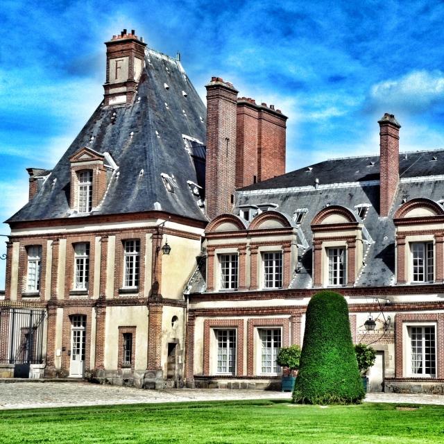 Fontainebleau, Pavillon de la Cour d'honneur