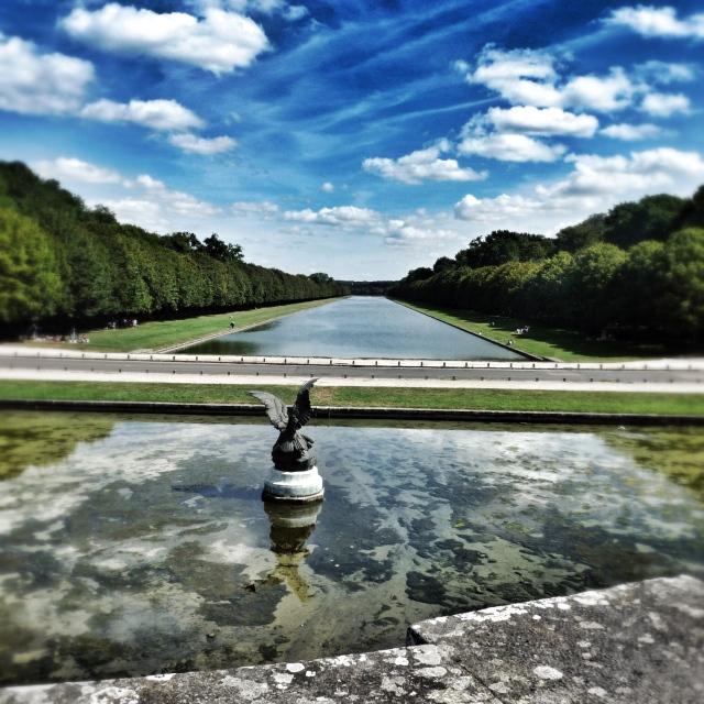 Fontainebleau, Bassin des Cascades et Canal