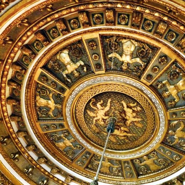 Fontainebleau, Plafond des appartements de Napoléon Ier