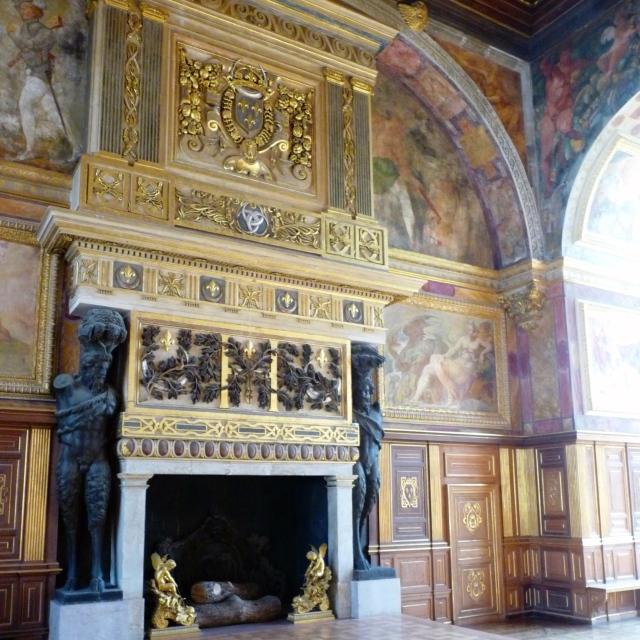 Fontainebleau, La salle de Bal, construite sous François Ier et Henri II