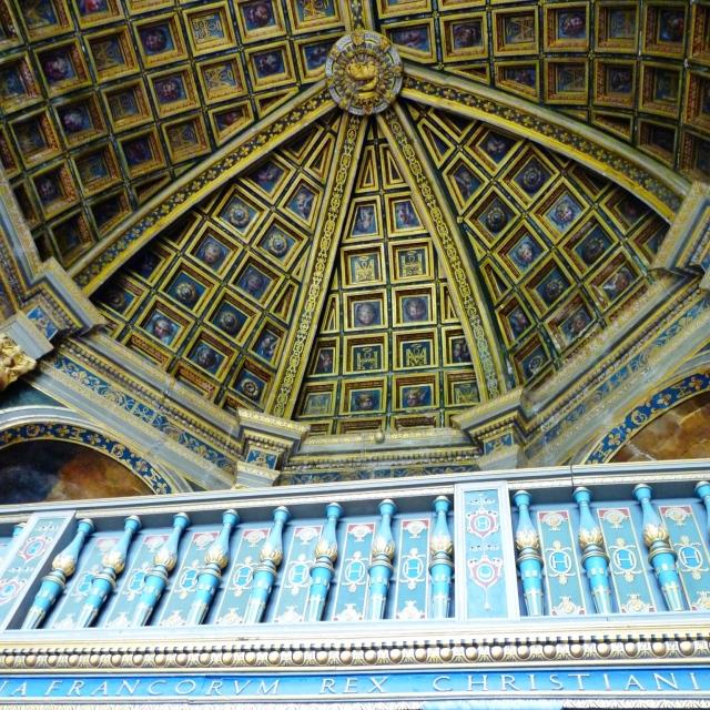 Fontainebleau, La chapelle Saint-Saturnin, construite sous Henri II
