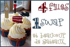 4 filles, 1 swap et beaucoup de gâteaux