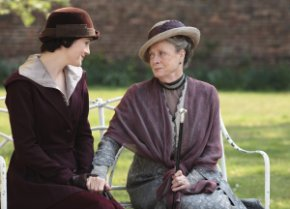 Mary et Lady Grantham
