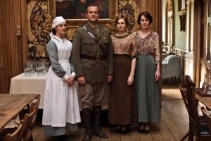 Lord Grantham et ses filles