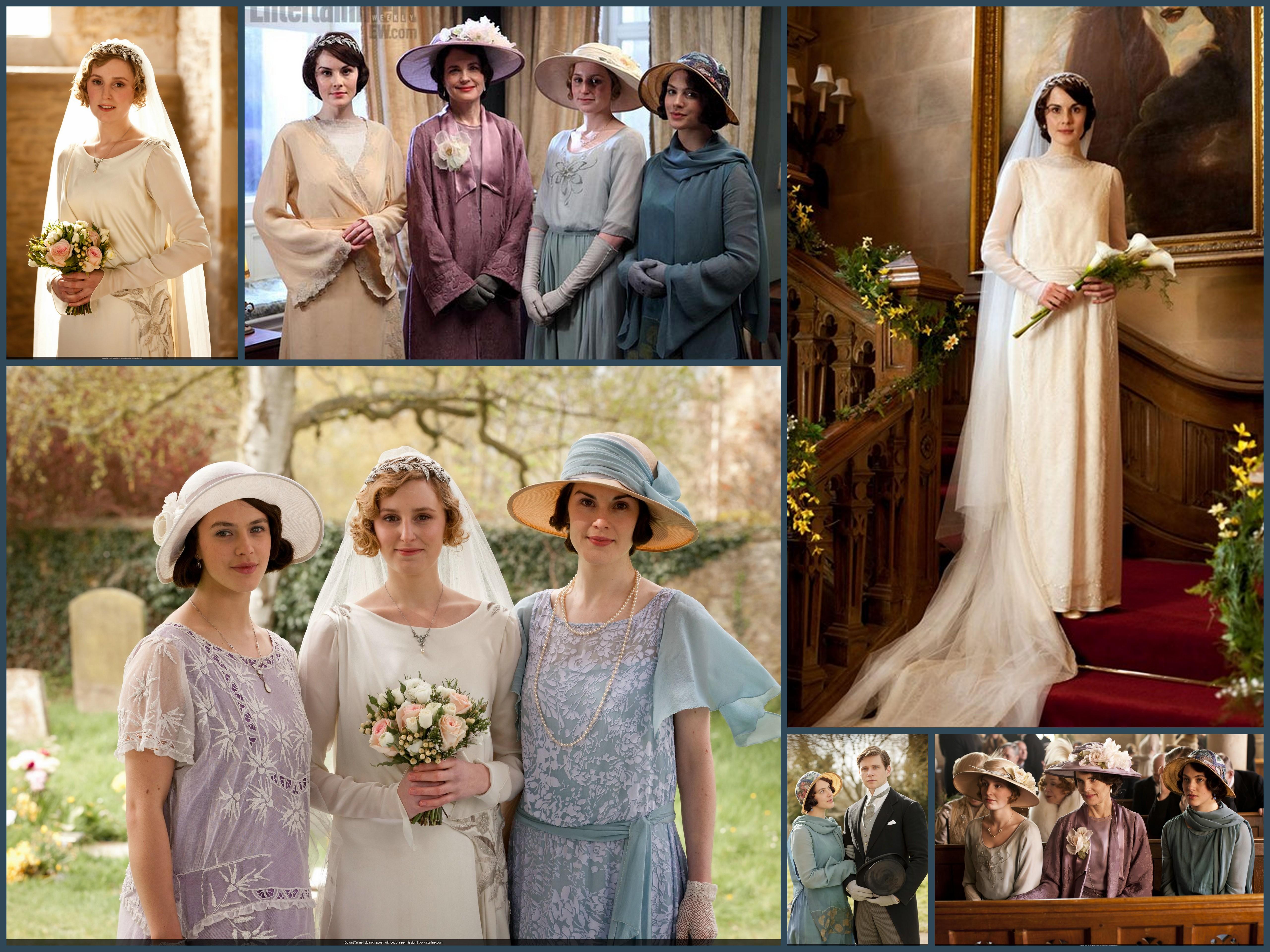 Souvent Downton Abbey robe de mariée | Peinture QN44