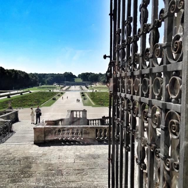 Vaux-le-Vicomte, vue sur les jardins