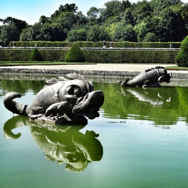 Vaux-le-Vicomte, fontaines