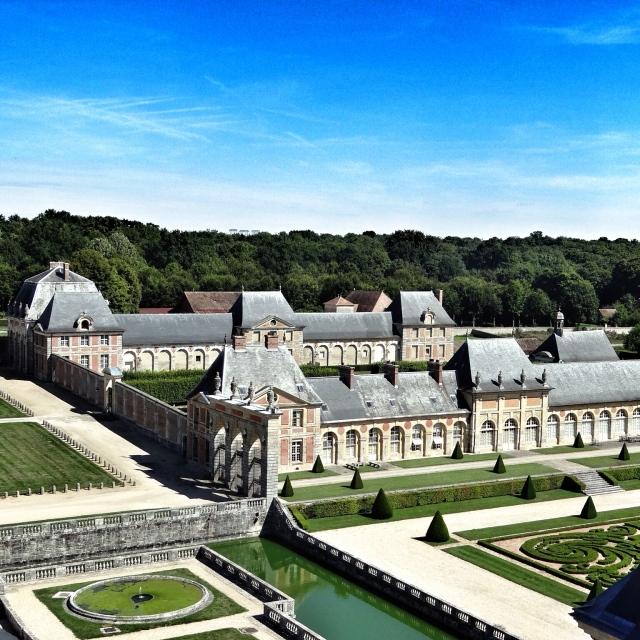 Vaux-le-Vicomte, entrée est