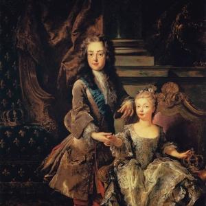 Louis XV et Marie-Anne-Victoire