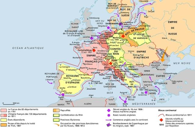 L'Europe en 1812