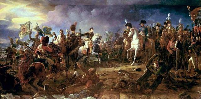 La victoire d'Austerlitz